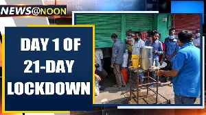 India stops to fight COVID-19, enters 21-day lockdown | Oneindia News [Video]