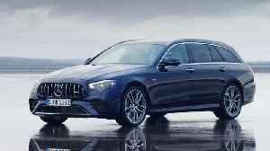 The new Mercedes-Benz AMG E 53 Estate Design Preview [Video]