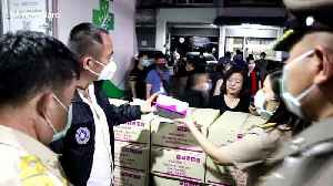 Thai police arrest trader who allegedly hoarded more than 40,000 face masks [Video]