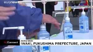 Olympic flame on display in Japan despite postponement of Tokyo 2020 [Video]