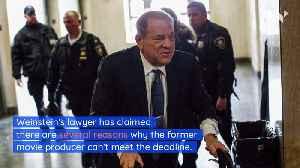 Harvey Weinstein Asks to Postpone His Civil Case [Video]