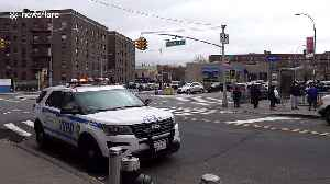 NYPD announce reminders for social distancing amid coronavirus lockdown [Video]