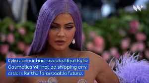 Kylie Cosmetics Ceases Production Amid Coronavirus [Video]