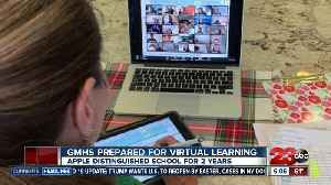 GMHS prepared for virtual learning [Video]
