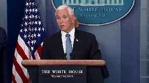 News video: White House says anyone who left NYC recently must self-quarantine