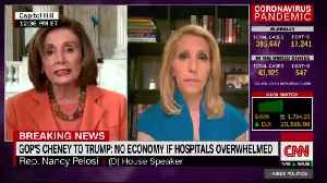 Nancy Pelosi slams Trump's plan to reopen economy for unemployed Americans [Video]