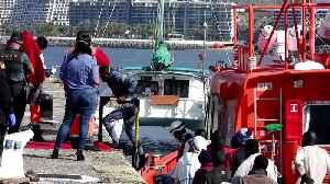 Spanish coast guard rescues 37 migrants in the Atlantic [Video]