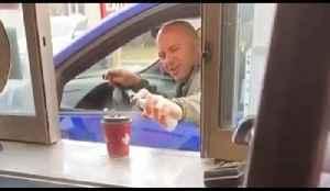 Canadian Man Sanitizes His Tim Hortons Coffee [Video]