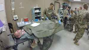 News video: U.S. Army Will Deploy Combat Hospitals To New York And Washington