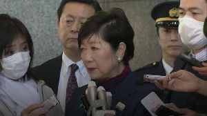 Tokyo governor relieved at postponed Olympics [Video]