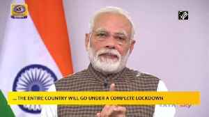 News video: India to go under total lockdown for 21 days from midnight announces PM Modi