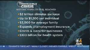 News video: White House, Senate Agree To $2 Trillion Stimulus Deal To Boost Economy In Coronavirus Pandemic