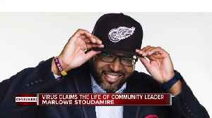 Detroit community leader dies from COVID-19 [Video]