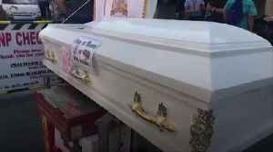 Police in the Philippines install a coffin at checkpoint during Covid-19 pandemic [Video]