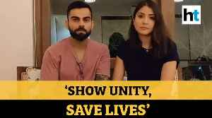 COVID-19 | After PM's address, Virat Kohli & Anushka Sharma's message for the country [Video]