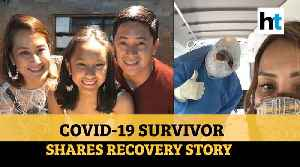 'COVID-19 isn't a death sentence': Filipino survivor shares his recovery story [Video]