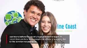 News video: Bindi Irwin has married Chandler Powell