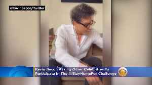News video: Kevin Bacon Leading Celebrities To Participate In #IStayHomeFor Challenge During Coronavirus Pandemic