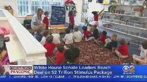 News video: Senate Reaches Deal On $2T Stimulus Deal
