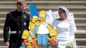 'The Simpsons' Want Prince Harry and Meghan Markle on the Show [Video]