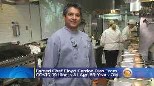 Coronavirus: Famed Chef Floyd Cardoz Dies From COVID-19 Illness At Age 59 [Video]