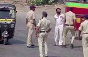 Indian police use violence against coronavirus lockdown offenders [Video]