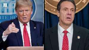 President Donald Trump vs. New York Gov. Andrew Cuomo [Video]