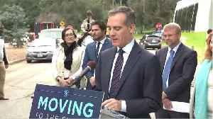 Los Angeles Mayor Garcetti Warns Of Death, Condemns 'False Hope' [Video]