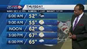 Rain moves back in Thursday evening [Video]