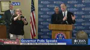News video: Gov. Polis Issues Stay At Home Order For Colorado