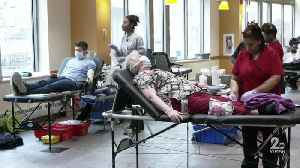 Donors show up to donate blood, UMMC holding three-day drive [Video]