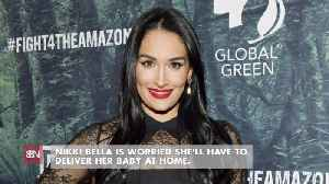 Nikki Bella Is Scared Of Home Delivery [Video]
