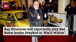 Ray Winstone's Black Widow Role [Video]
