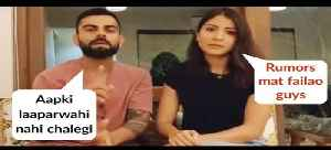 Virat Kohli And Anushka Sharma PLEAD Citizens, Gives Away Safety Tips And Measures [Video]