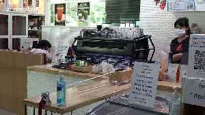 Thai coffee shop uses pulleys to follow social distancing rules while serving customers [Video]
