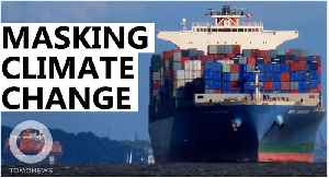 Are container ship exhaust fumes delaying climate change? [Video]