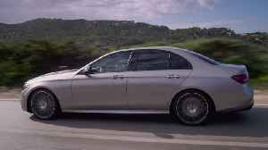 The new Mercedes-Benz E-Class Sedan Driving Video [Video]