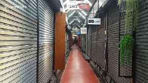 World's largest weekend market deserted amid COVID-19 tourism downturn [Video]