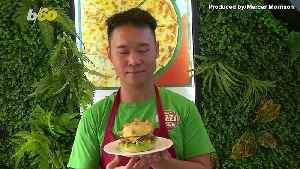 Vietnamese Pizza Place Creates 'Coronaburger' to Ease Coronavirus Fears [Video]