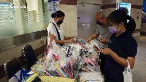 Compulsory face mask measures introduced in Bangkok to battle coronavirus [Video]