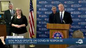 News video: Gov. Jared Polis issues statewide stay-at-home order in Colorado