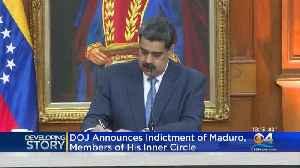 Nicolas Maduro Indicted by DOJ [Video]