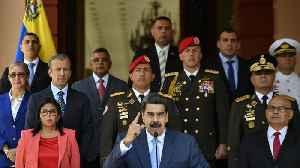 U.S. Files Criminal Charges Against Venezuela's Maduro [Video]
