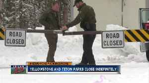 Yellowstone and Teton Parks close [Video]