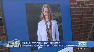 1992 Olympic Star Summer Sanders Weighs In On 2020 Postponement [Video]