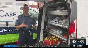 Coronavirus Testing, Treatment Made Available At Home By Somerville Ambulance Service [Video]