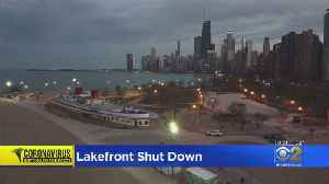 Police Clear Lakefront Of Stay-At-Home Order Violators [Video]
