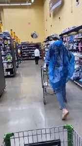 Two Women Take Exaggerated Safety Measures to Shop Together During Pandemic [Video]