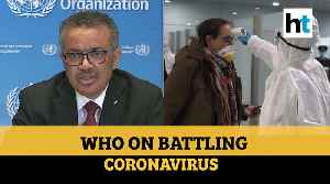 News video: 'Lockdown alone will not extinguish COVID-19': WHO lists steps to fight virus