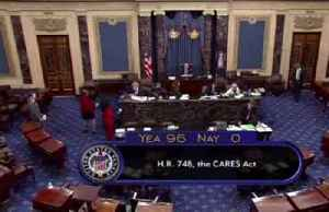U.S. Senate passes $2 trillion coronavirus relief bill [Video]